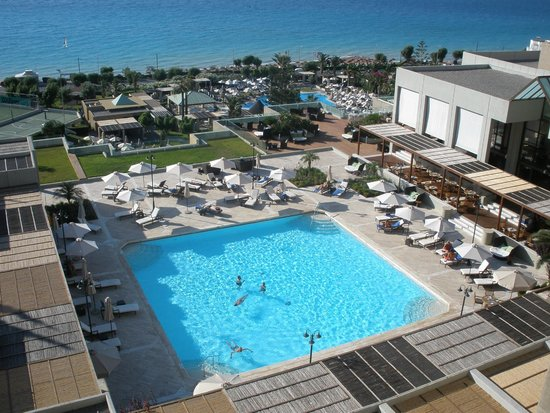 Sheraton Rhodes Resort: pool of 6th floor