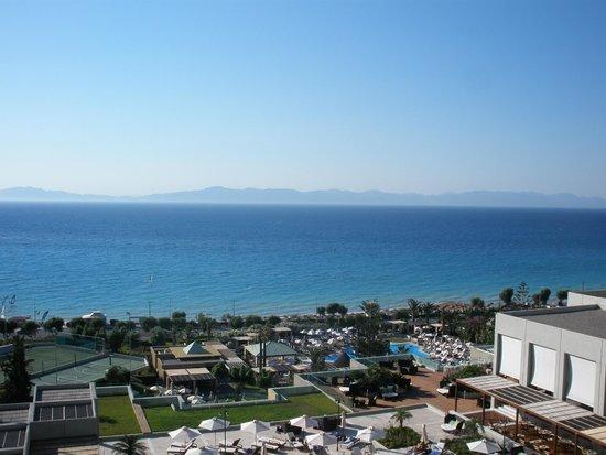 Sheraton Rhodes Resort: Ixian bay great view