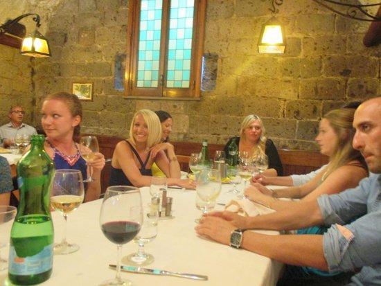 Ristorante Zi'Ntonio: large group dinner
