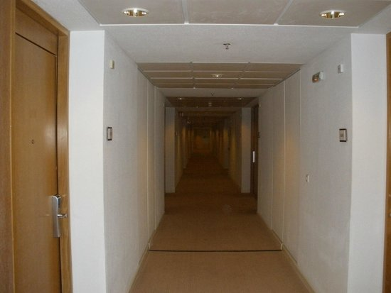 Sheraton Rhodes Resort : The corridor of 10th floor