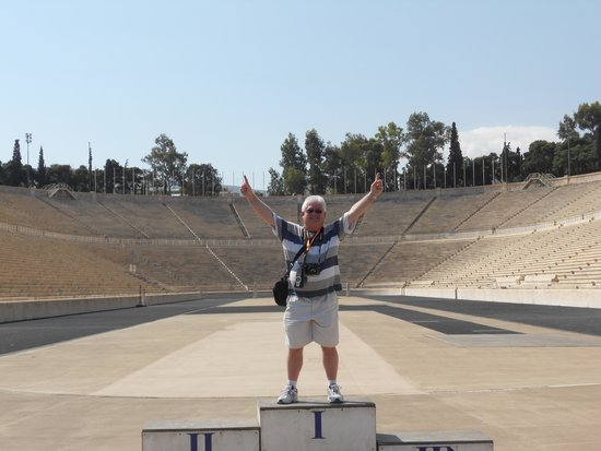 Panathenaic Stadium: And in 1st place the winner is ....