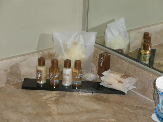 Sheraton Rhodes Resort : Nice bathroom cosmetics