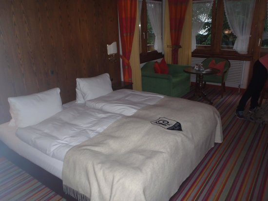 Hotel Daniela: Corner room