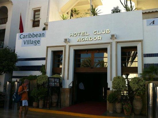 Caribbean Village Agador: ingresso principale