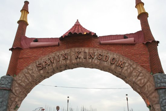 Siliguri, India: entrance gate