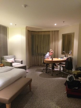 Hyatt Regency Perth : Very spacious, well fitted out rooms.