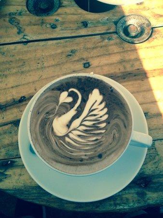 Lamkin Lane Espresso Bar: Too stunning to drink!!!!