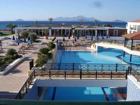 Atlantica Porto Bello Royal: Pools with sea view