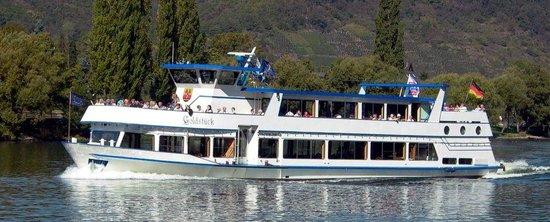 Personenschifffahrt MS Goldstueck