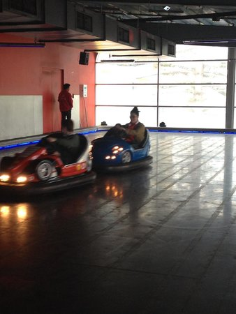The Beachouse: Dodgems