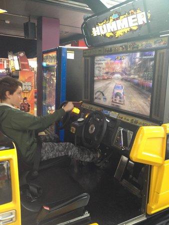 The Beachouse: Ho Humm (er) Arcade game
