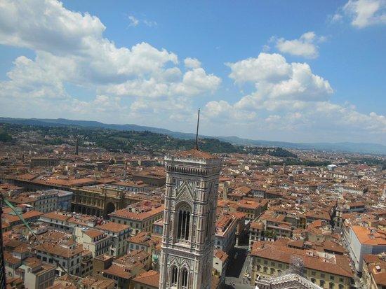 Duomo - Cattedrale di Santa Maria del Fiore: View from the top of the Duomo