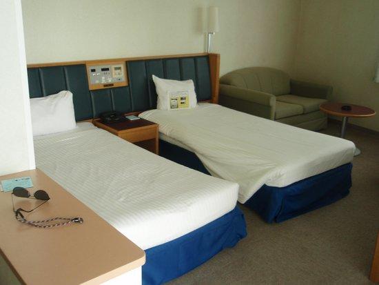Hotel Resonex Nago : 客室