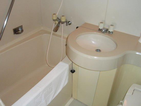 Hotel Resonex Nago : バス・トイレ