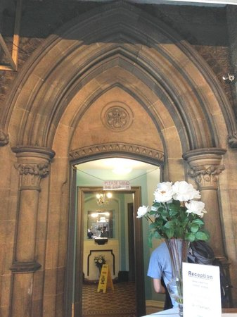 Newcastle Rooms: reception... also looks ecclesiastical