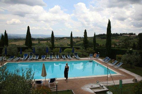 Il Casale del Cotone: Underbara omgivningar med utsikt över det sköna toscanska landskapet