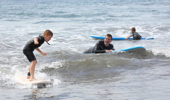 Pro Surfing Company: Lochlann not being out done!