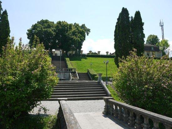 Brukenthal Palace Avrig: Palace estate