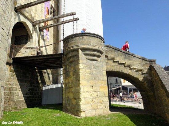 Château de Langeais : Le pont levis du château