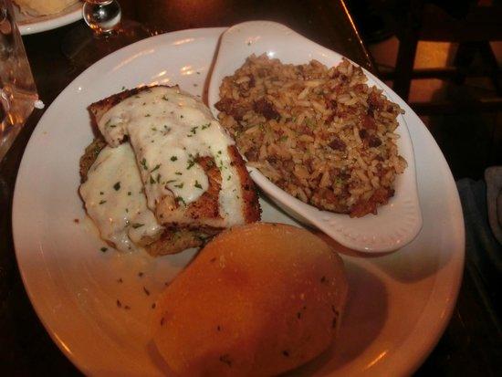 Ralph & Kacoo's: Crab-stuffed Tilapia