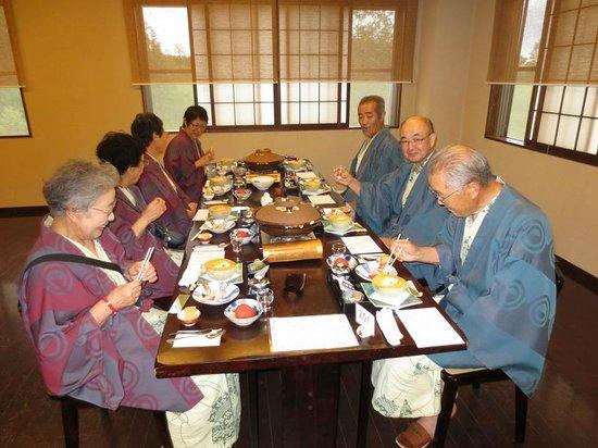 Yukomanso : 姉兄夫婦と楽しい夕食