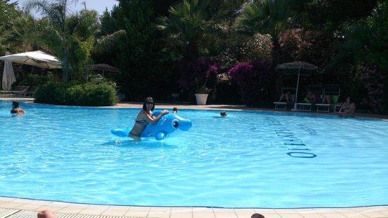 Oleandri Resort Paestum - Hotel Residence Villaggio Club: azzurro del mattino!