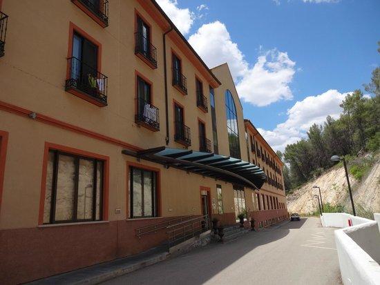 Hotel Balneario TermaEuropa Carlos III : Entrada principal