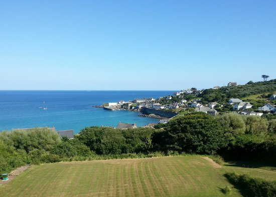 Penmarth House B&B: A room with a View