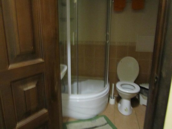 Guesthouse of the Pastuhov Academy: Ванная комната, которая запирается на ключ