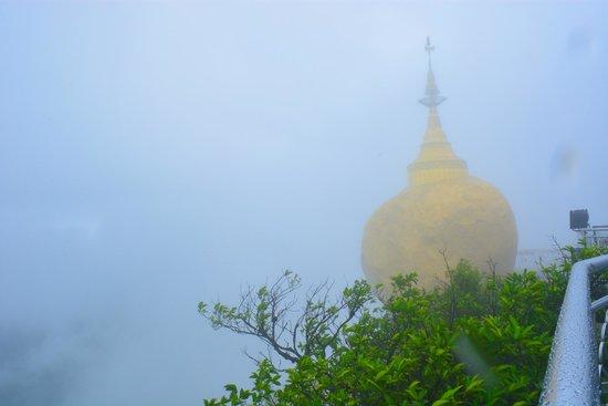 Kyaiktiyo Pagoda: View