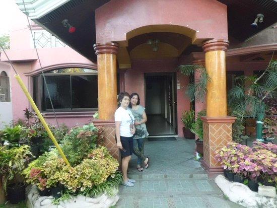 With my sister Andrea de Leon - infront of Coco Grove Tourist Inn