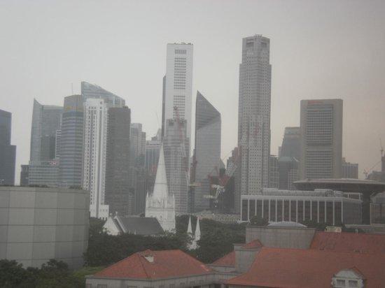 Carlton Hotel Singapore: 窓からの景色