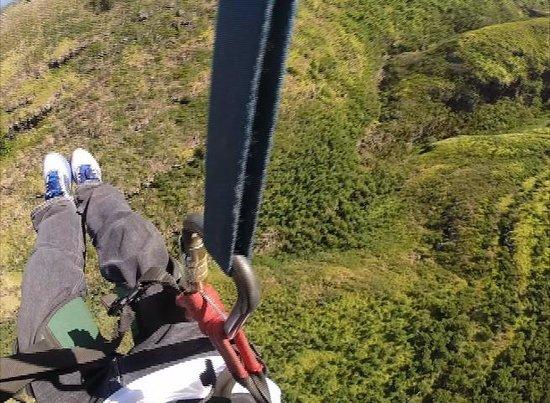 Flyin Hawaiian Zipline: the view