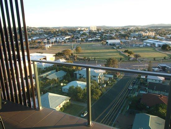 Oaks Grand Gladstone: View from balcony
