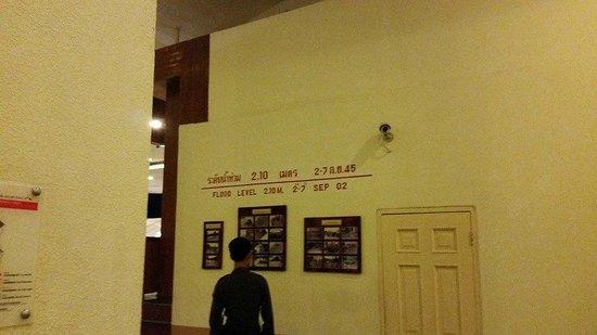 Loei Palace Hotel: history of 2002 flood on display