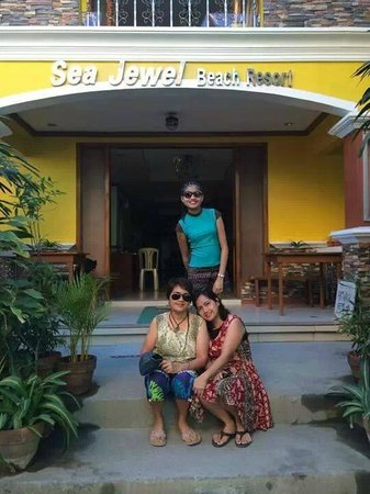 In front of Sea Jewel Beach Resort