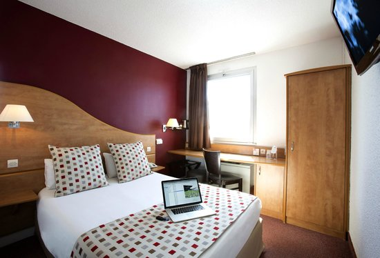 Inter-Hotel Apolonia Bordeaux Lac : chambre double