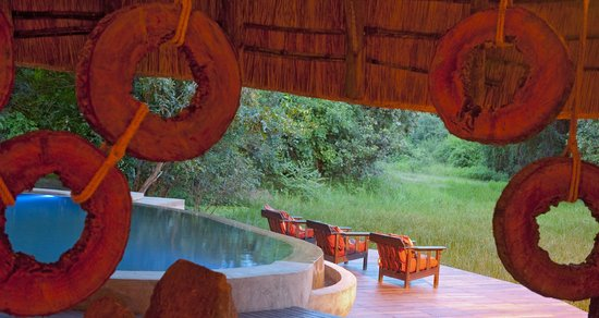 South Luangwa National Park, Sambia: Dining area