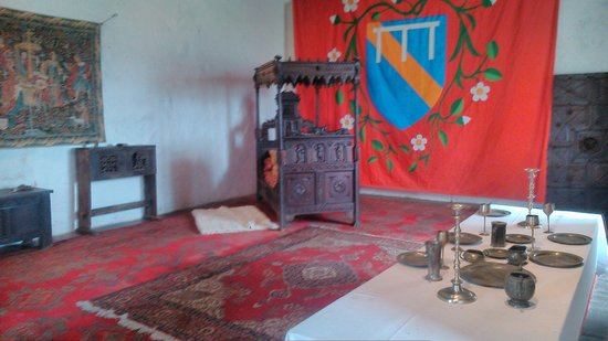 Bolton Castle: Mary Queen of Scots bedroom