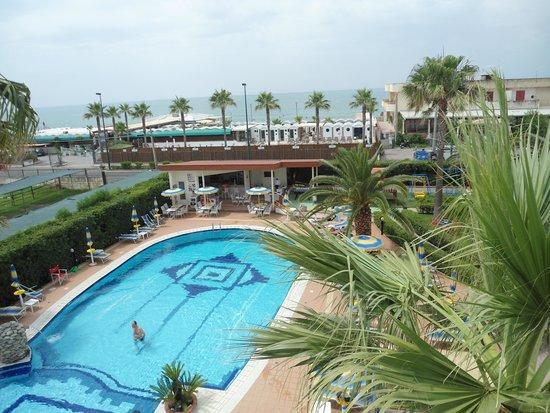 Hotel Olimpico: vista dalla camera