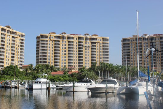 The Westin Cape Coral Resort At Marina Village: View of the marina