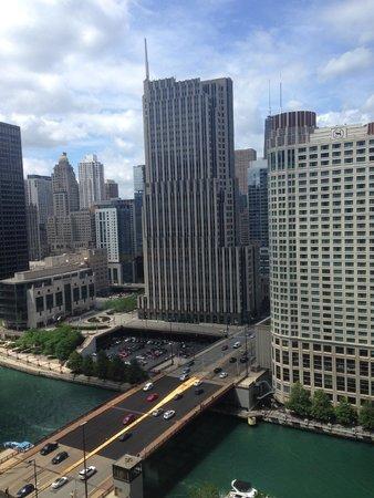 Swissotel Chicago: Utsikt från rum 2108
