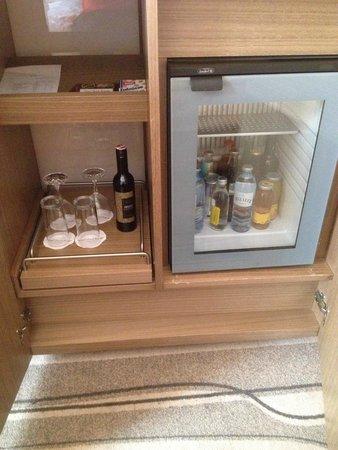 Grand Hotel Europa: Minibar is always a treat