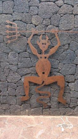 Parque Nacional de Timanfaya: Symbol Parku