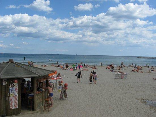 Estival Park Salou: Пляж