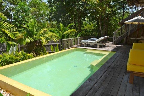 Six Senses Yao Noi: piscine privée dans notre villa