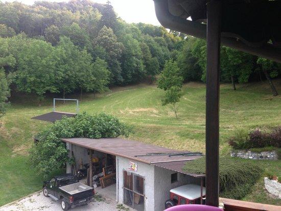 B&B The Duck's Cottage: vista dalla camera