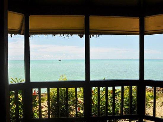 Le Vasa Resort: Sunset Oceanfront Villa Deck