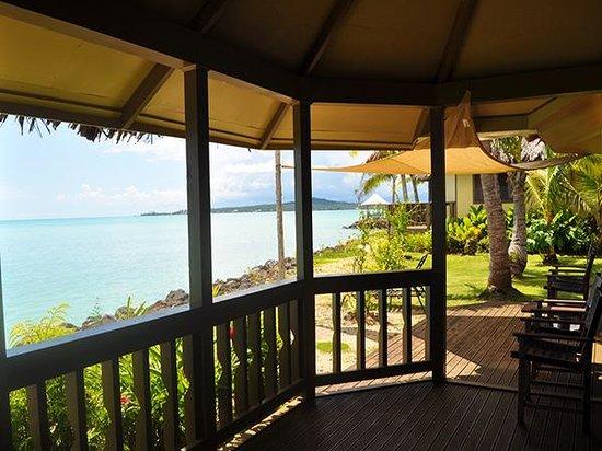 Le Vasa Resort: Sunset Oceanfront Villa Two Decks