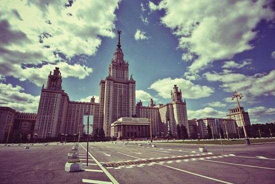 Lomonosov Moscow State University (MGU): Главный корпус